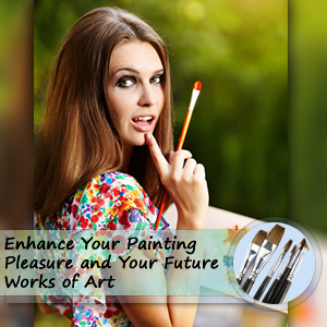 Acrylic Paint Brushes for Your Next Work of Art