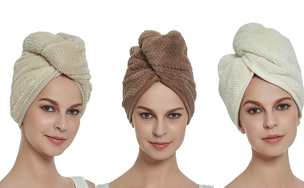 Hair Drying Towels