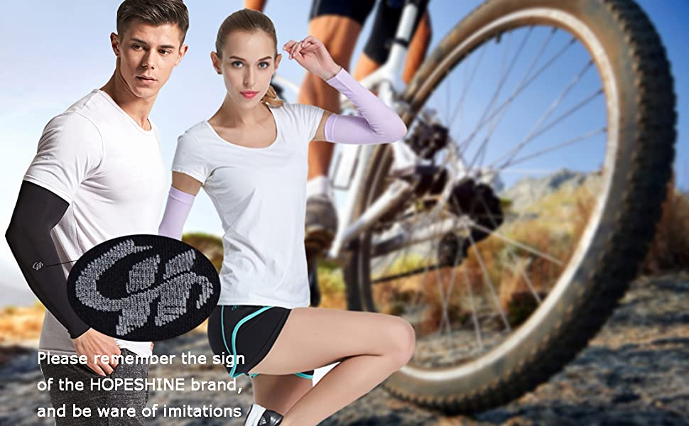 Golf UV Sun Protection Cooling Arm Sleeves/UPF 50 Outdoor Sports 4-Pairs/for Men Women Cycling