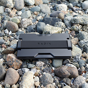 Aluminum Minimal Thin Front Pocket Wallet