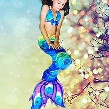 Mermaid photoshotting