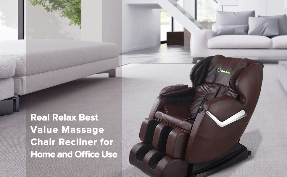 More Details About Real Relax Massage Chair