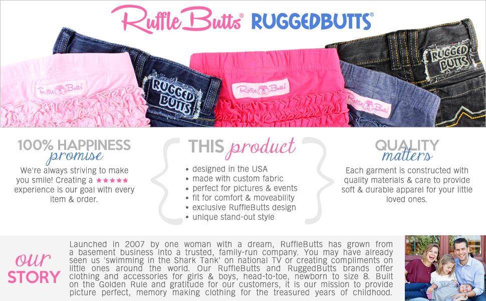 a2da406e2bc3 Amazon.com  RuffleButts Baby Toddler Girls Knit Pom Pom Bubble ...