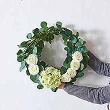 fake hydrangea flower