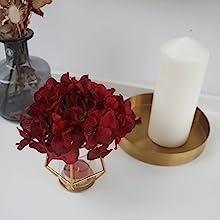 artificial flowers head