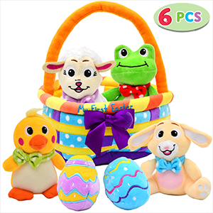 Amazon.com: Joyin My First Easter Egg Basket - Set de cesta ...