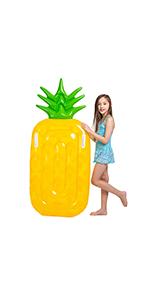 Amazon.com: Joyin - Flotador hinchable gigante de piña para ...