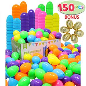 Amazon.com: Joyin Toy - 144 huevos de Pascua + 6 huevos ...