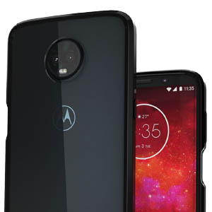 Ouba Moto Z3 Play Case, Moto Z3 Case, [Shock Absorption] Air Hybrid Armor Defender Protective Case and Crystal [Clear] Back Cover Compatible for ...