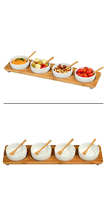 4 Bowl Serving Platter