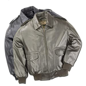 leather bomber jacket made in usa