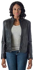 Moto Leather Fashion Jacket