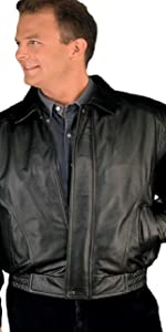American Classic Leather Flight Bomber Jacket