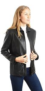 "26"" Classic Leather Jacket"