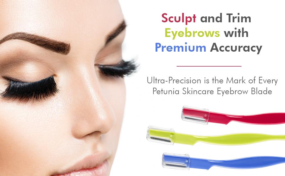 Amazon Professional Eyebrow Razor 6 Pack Personal Facial