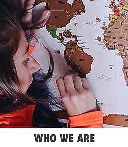 Amazoncom Landmass Travel Tracker Map Scratch Off Your - Us travel tracking map