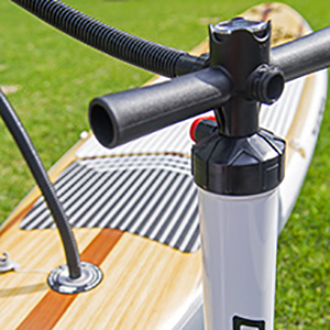 THURSO SURF Expedition touring stand up paddle board manual pump