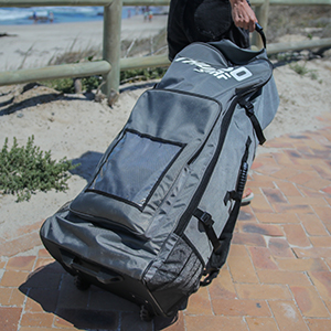 THURSO SURF Expedition touring stand up paddle board roller backpack