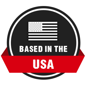 Based in the USA and Proud of It!