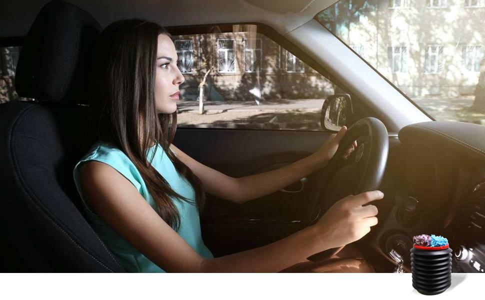 American Shifter 149570 Black Retro Shift Knob with M16 x 1.5 Insert White Curvy Road
