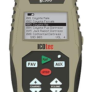 ICOtec GC500 Remote Control