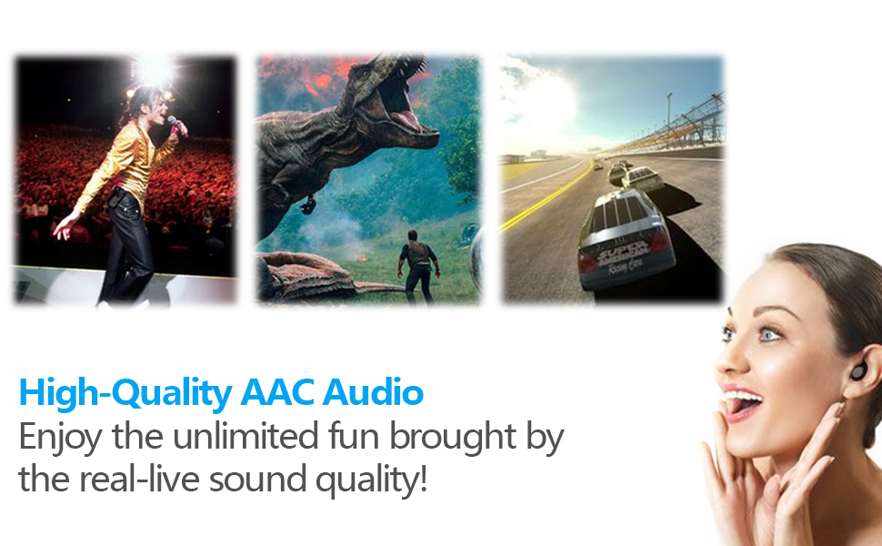 Bilateral calls function & High-Quality AAC Audio