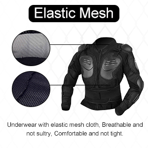 Amazon.com: Yolu - Chaqueta de protección para motocicleta ...