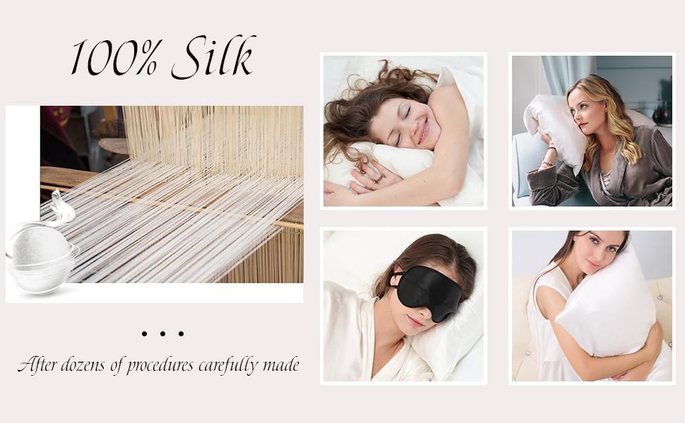 100 silk pillowcase