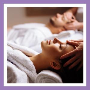 massage table handheld massager foot neck head scalp face facial self care wellness