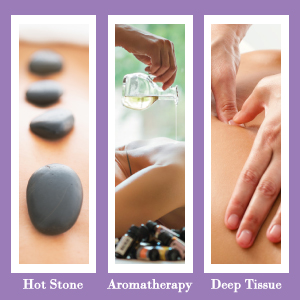 Hot Stone Aromatherapy Deep Tissue Trigger Point Massage Therapy Body Work Oil Physical