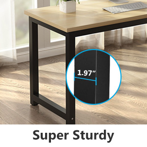 Thicker Metal Leg Ensure Stable and Sturdy of Desk