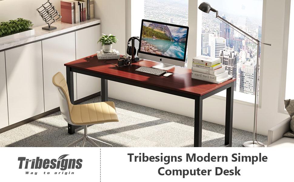 Amazon Com Tribesigns Computer Desk 63 Quot Large Office