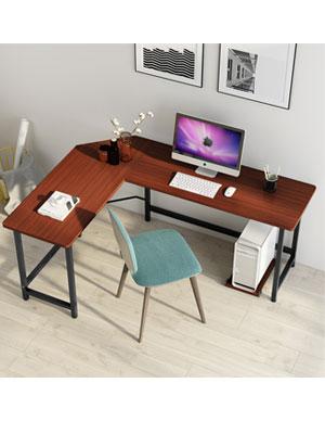 Amazon Com Tribesigns Modern L Shaped Desk Corner Computer Desk Pc Laptop Study Table