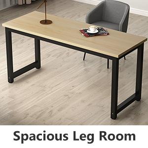 Spacious Leg Room for Leg Rest or Storage