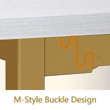 M-Style Buckle design