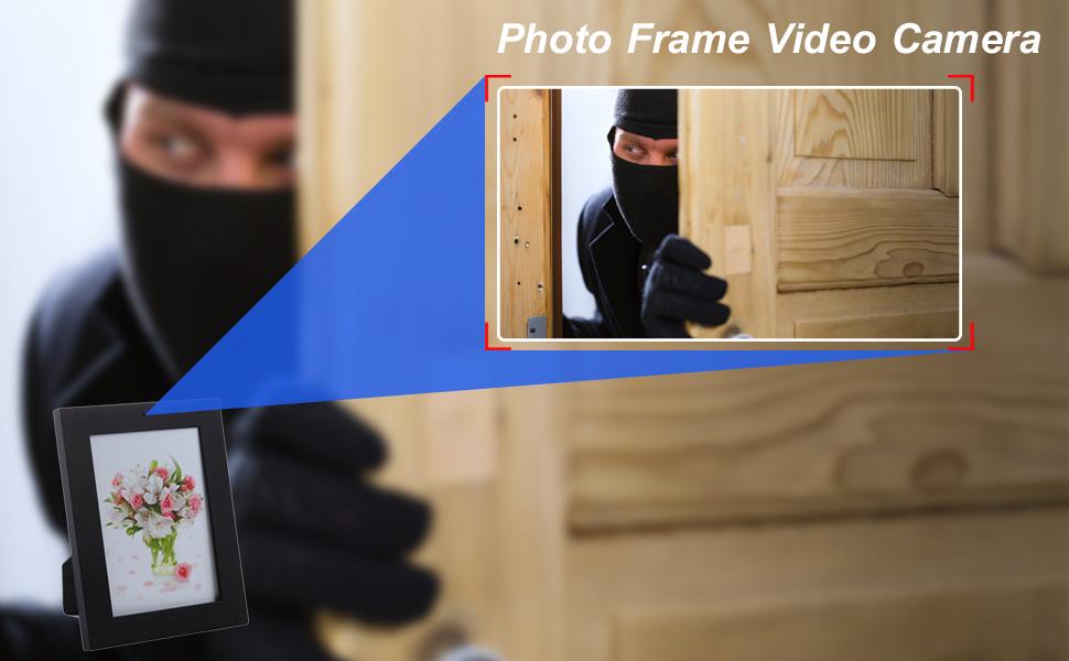 Amazon.com : Mengshen Home Photo Frame Style Hidden Camera 1280×960 ...