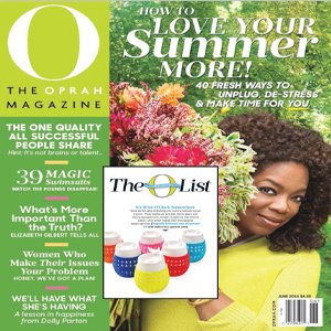 Oprah Magazine Oprah Favorite Things Goverre Girls Wine Glass Tumbler Cup Holiday Gift List Hostess