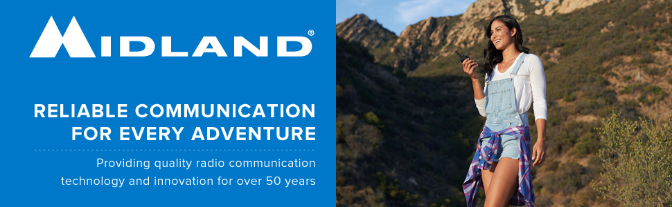 efficient radio communication outdoors walkie talkie range channels emergency weather severe warning