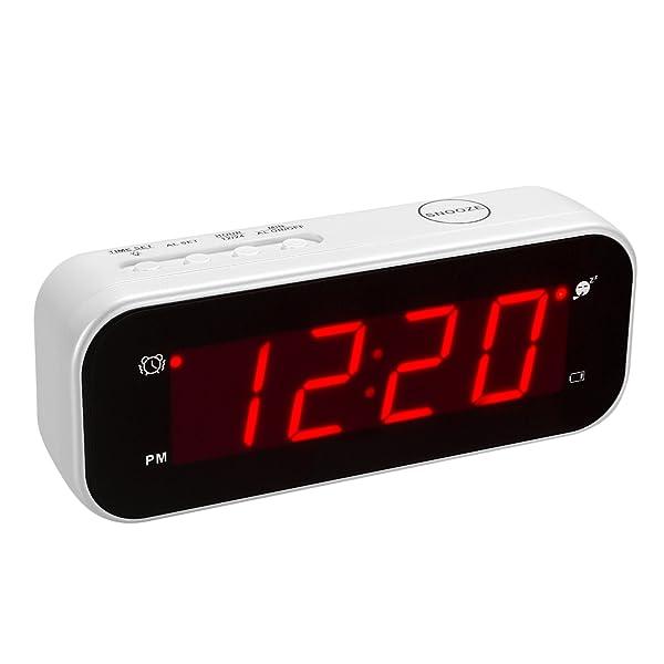 Amazon.com: Kwanwa Reloj digital, funciona a baterías ...