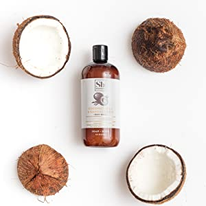 Coconut Milk & Sandalwood 3PC Body Wash Set - Bed & Bath