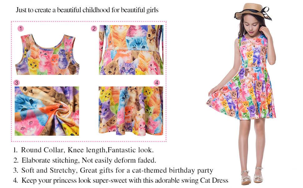 1f6d39b4e Girl Flutter Dresses · Girls Summer Dresses · Girls Sleeveless Dresses ·  Girls Party Dresses · Girls Swing Short Sleeve · Girls Unicorn Dresses