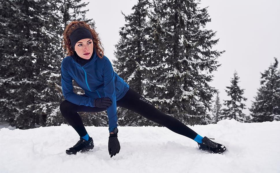 CEP Winter Short Socks Laufsocken Wintersport Running Bike Ski Socken Herren