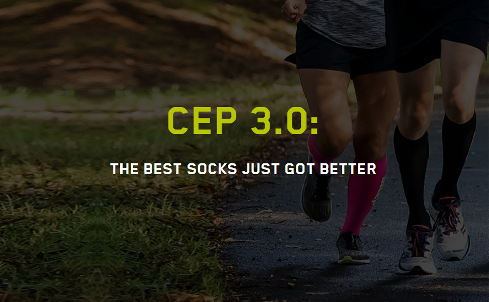 43e9a89389 Amazon.com: Men's Athletic Compression Run Sleeves - CEP Calf ...