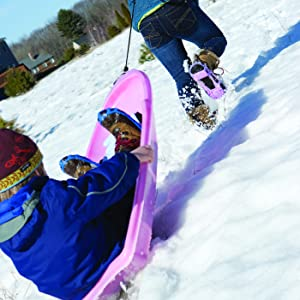 Winter Outdoor activities with STABILicers Ice Cleats that Attaches over the Shoes/Boots for Safety