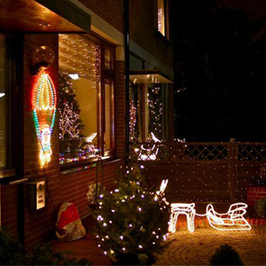 100 ft RF Range Wireless Remote Control Outdoor Lighting Christmas Decorations