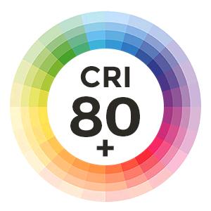 CRI 80+