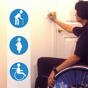 Perfect for the elderly, pregnant woman and those with limited mobility or back pain