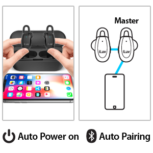 smart pairing automatic power on