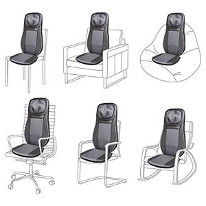 Seat massager back