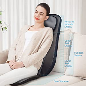 massage chair pads massage for chair back massager heated back massager massage chair full body